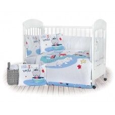 Kikka Boo 7-elements Bedding Set Nautic 60x120 сm