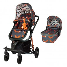 Cosatto Giggle Quad Baby stroller Charcoal Mister Fox