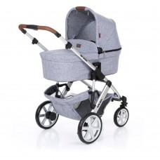 ABC Design Бебешка количка и твърд кош Salsa 4 Graphite grey