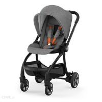 Kiddy Evostar Light 1 Stroller Grey Melange Safe Orange