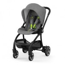 Kiddy Evostar Light 1 Stroller Grey Melange Super Green