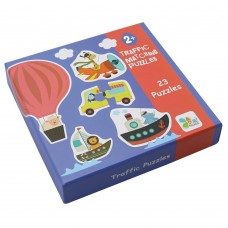 Andreu Toys Traffic Matching Puzzles