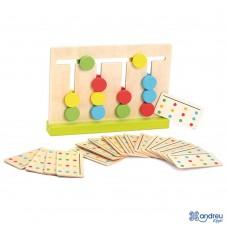 Andreu Toys Обучителна игра Научи цветовете