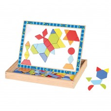 Andreu Toys Magnetic Puzzle Shapes