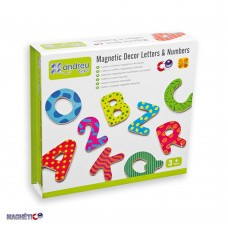 Andreu Toys Magnetic Decor Letters and Numbers