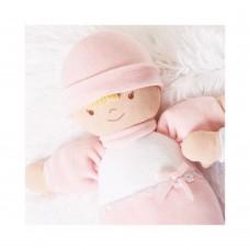 Andreu Toys Мека кукла - бебе Они, розово 24 см