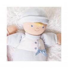 Andreu Toys Мека кукла - бебе Они, синьо 24 см