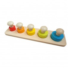 Andreu Toys Circle Puzzle With Knobs