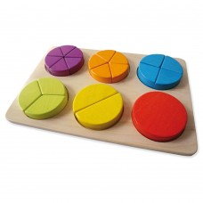 Andreu Toys Fraction Learning Puzzle