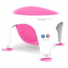 Angelcare Мека седалка за баня, розова