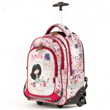 ANEKKE Ergonomic School Backpack With Wheels Liberty