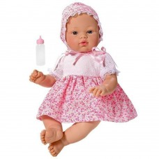 Asi Koke baby doll 36 cm with pink dress
