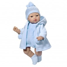 Asi Koke baby doll 36 cm with blue coat