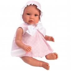 Asi Leo baby doll 46 cm with pink dress