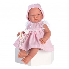 Asi Maria baby doll 43 cm with pink dress