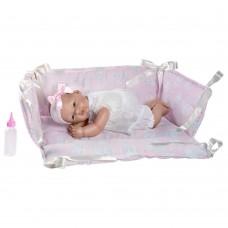 Asi Кукла-бебе Оли в розово кошче