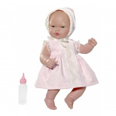 Asi Olly baby doll 30 cm pink dress