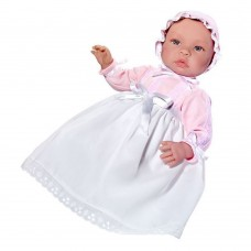 Asi Leo baby doll 46 cm with white dress