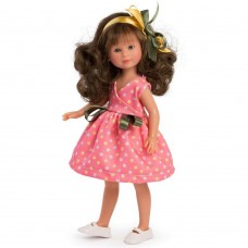 Asi Celia doll 30 cm with coral dress