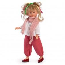 Asi Celia doll 30 cm with pink skarf
