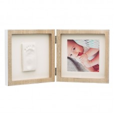 Baby Art Square Print Frame My Baby Style wooden