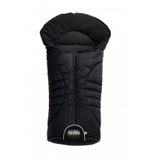 Odenwaelder Footmuff Teddy Vario black