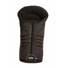 Odenwaelder Footmuff Teddy Vario brown