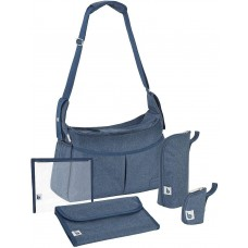 Babymoov Чанта Urban Bag Melanged blue
