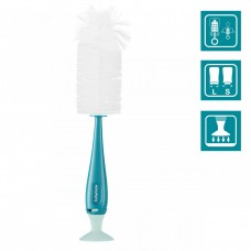 Babymoov 2-in-1 bottle brush blue