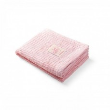 BabyOno Bamboo knitted blanket pink