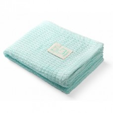 BabyOno Bamboo knitted blanket green