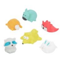 Badabulle Baby Bath Toys, set of 6