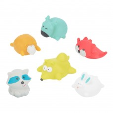 Badabulle Baby Bath Toys, set of 6