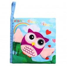 Bali Bazoo Soft book Owl