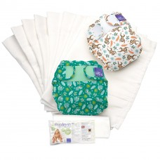 Bambino Mio Miosoft Reusable Nappy Set Rainforest Size 1