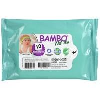 Bambo Nature Baby Wipes, 10 pcs.