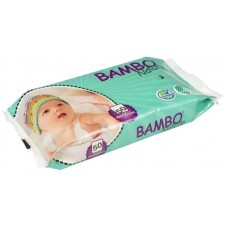 Bambo Nature Baby Wipes, 50 pcs.