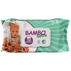 Bambo Nature Baby Wipes, 80 pcs.