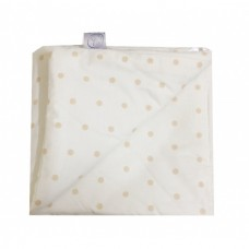Barbabebe Bumper champagne with beige dots