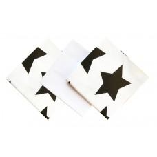 Barbabebe Пелени за бебе 3 броя звезди