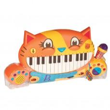 Battat Детско пиано с микрофон Котка