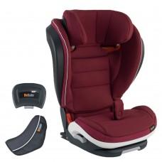 BeSafe iZi Flex Fix i-Size Car Seat 15-36 kg Burgundy Melange