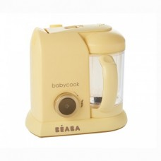 Beaba  Уред за здравословно приготвяне на бебешка храна Babycook® Limited Edition Macaron Vanilla