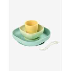 Beaba Silicone Meal Set yellow