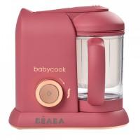 Beaba Уред за здравословно приготвяне на бебешка храна Babycook® Solo, litchee