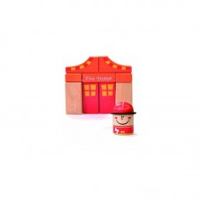 Beluga Wooden toy fire station