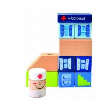 Beluga Wooden toy Hospital