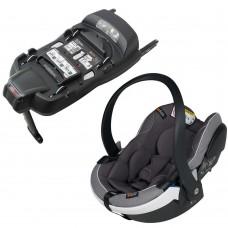 BeSafe Столче за кола iZi Go Modular X1 i-Size, Metalic Melange и база iZi Modular IsoFix