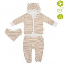 Bio Baby Newborn Baby Set 3 pieces 100% organic cotton