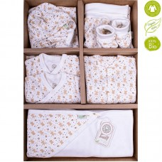 Bio Baby Newborn Baby Set 9 pieces 100% organic cotton